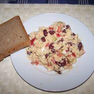Kuskusový salát s tuňákem recept
