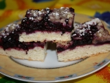 Borůvkový koláč II. recept