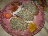 Kokosovo-maková bábovka (větší) recept