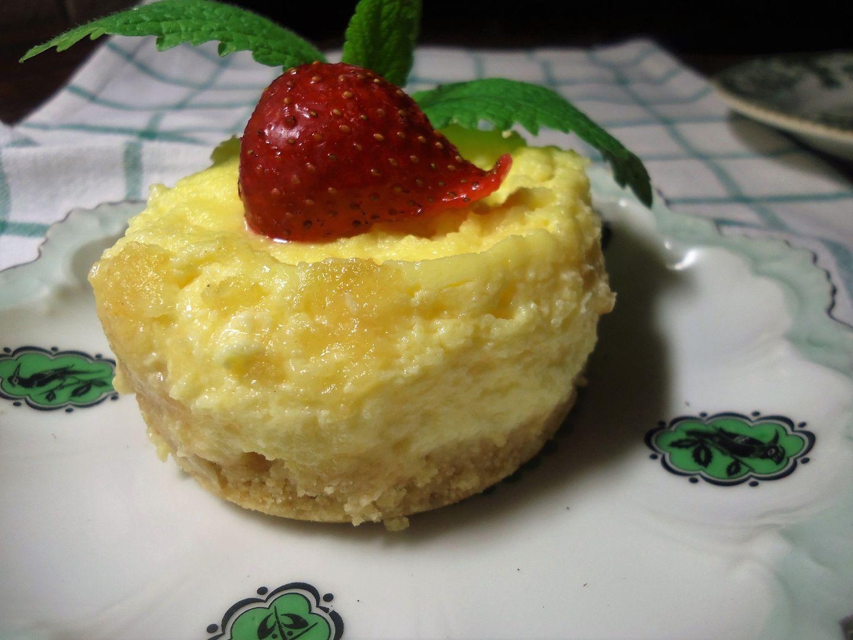 Cheesecake pro jednoho z mikrovlnky recept