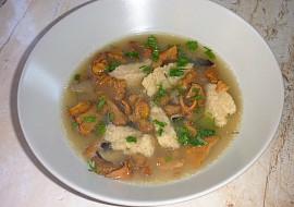 Houbová polévka jednoduchá a chutná recept
