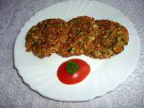 Placičky ze surimi, vloček a špenátu recept