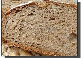 Grahamový chléb (s prefermentem) recept