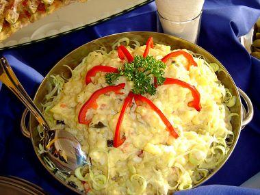 Recept Bramborový salát s rukolou