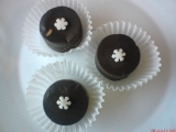 Karamelové burizony v čokoládě recept