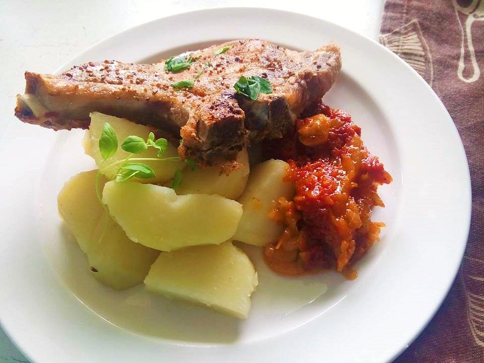 Kotleta na zelenině recept