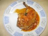 Kuřecí stehna v pánvi recept