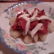 Italské bramborové noky s rajčatovou omáčkou recept