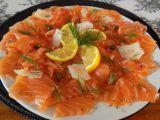 Carpaccio z čerstvého lososa recept