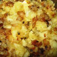 Šťouchané brambory po moravsku recept