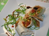 Tortilly s mexico směsí a kuřecím masem recept