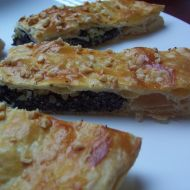 Listový koláč s makovou náplní recept