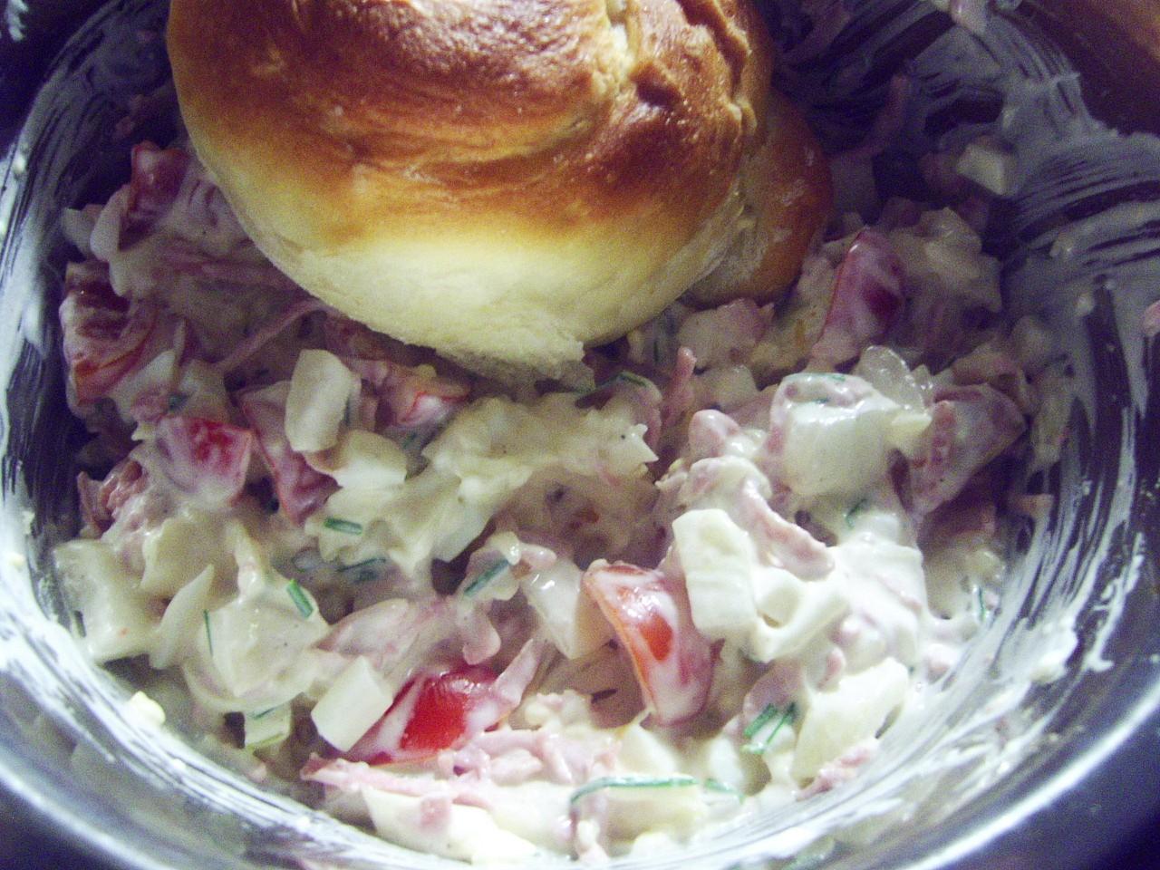 Vícechuťový salát recept