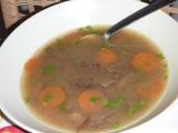 Čočkovo houbová polévka recept