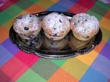 Muffiny s borůvkami recept