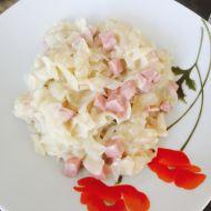 Těstoviny se šunkou s smetanou recept