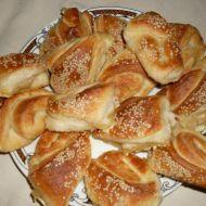 Nadýchané slané trojúhelníčky recept