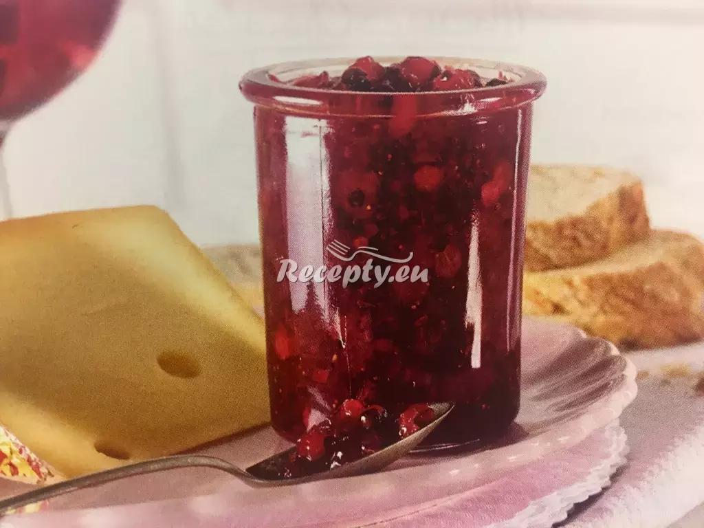 Pikantní jahodovo-rybízové čatní recept  zavařování, konzervování ...