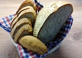 Jednoduchý, rychlý chléb, kynutý v ošatce recept