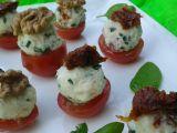 Sýrové kuličky se sušenými rajčaty recept