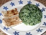 Tofu pěti vůní se špenátovou rýží recept