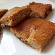 Tvarohovo-banánový koláč recept