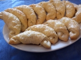 Slané sýrové rohlíčky recept
