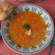 Venkovská mrkvová polévka recept