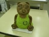 Medvídek  stříkaný krémem recept
