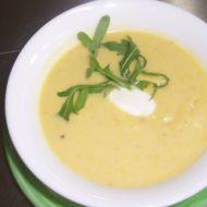 Bramborová polévka s kukuřicí recept