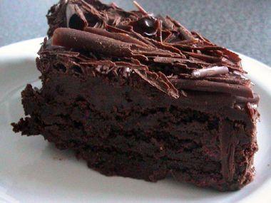 Čokoládový dort.