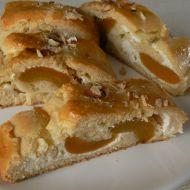 Závin s tvarohem a meruňkami recept