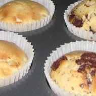 Jablečné muffiny s čokoládou recept