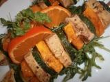 Špíz z cukety, dýně a tofu recept