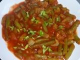 Fazolky s řapíkatým celerem recept