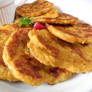 Pikantní kari placičky z topinamburu recept