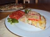 Vaječná omeleta s vařenými bramborami recept