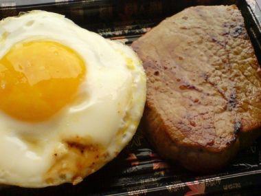 Biftek, s vejcem, obložený (2 porce)