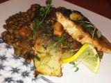 Filety z lososa s čočkovým ragu recept