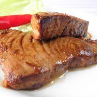 Marinovaný steak z tuňáka recept