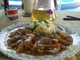 Kedlubnové maso na bazalce recept