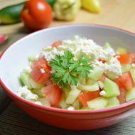 Pravý šopský salát recept