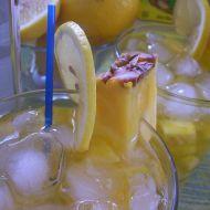 Ananasový drink s aloe recept