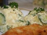Lehký (neboli snadný) bramborový salátek recept
