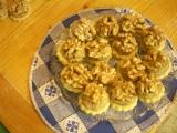 Linecké koláčky s ořechy recept
