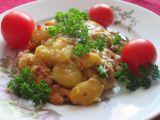 Gnocchi zapečené se smetanou, pórkem a anglickou slaninou ...