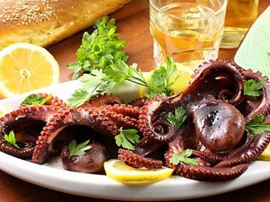 Chobotničky na víně