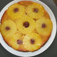 Obrácený ananasový koláč s višněmi recept