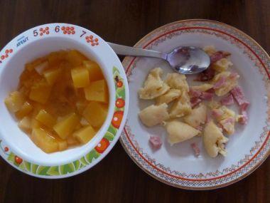 Dýňový kompot s ananasem