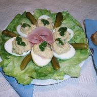 Vaječné jednohubky recept